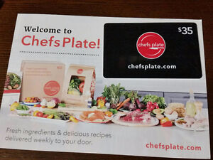 $35 gift card to Chefs Plate for $25