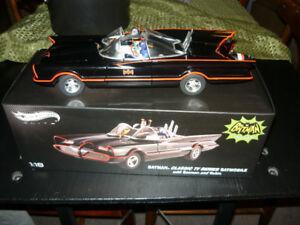 RARE ELITE 1:18 Die Cast 1966 Batmobile p/u only in Smithville