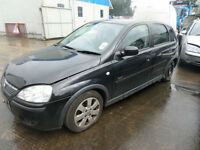 VAUXHALL CORSA 1.2i 16v SXi+ DAMAGED REPAIRABLE SALVAGE