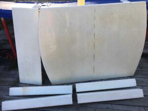 À vendre table blanche en bois