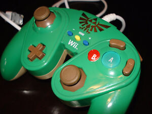 Manette Zelda, Official Wii.