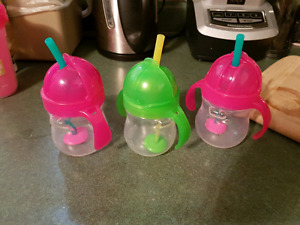 Munchkin weighted straw cups