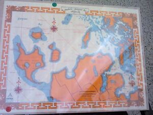 Shipwrecks Map in HEARTBEAT Thrift Store/BayView Mall Belleville Belleville Area image 1