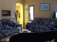 2 bedroom fully furnished upper level of house for monthly rent