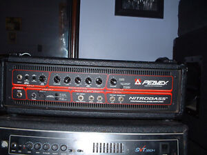 PEAVEY NITROBASS PROFESSIONAL BASS AMPLIFIER-REDUCED PRICE!!!