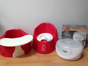 Bumbo, Petit-pot et Stérilisateur