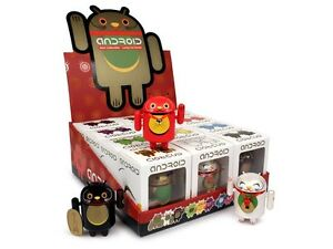 GOOGLE-ANDREW-BELL-DUNNY-FULL-CASE-OF-12-LUCKY-CAT-ANDROID-SERIES-COMPLETE-SET