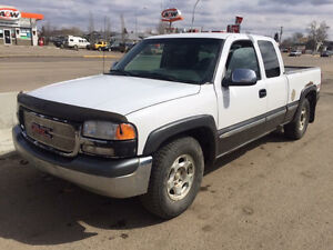 2000 GMC Sierra 1500 4x4 for sale or trade