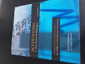 Accounting for Non-financial ManagersBook by Charles Draimin an