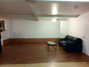 Large 4 bedroom basement apartment