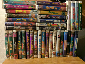 Disney and other movies with VCR