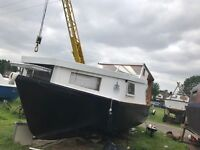 Residential houseboat, Cabin cruiser, boat, with mooring options £18,000