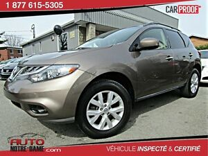 Nissan Murano AWD 4dr TOIT PANORAMIQUE 4X4 ** NOUVEL ARRIVAGE **