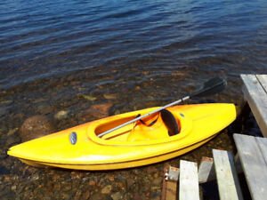 Pelican Kayaks with paddles