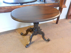 ANTIQUE FRENCH RENAISSANCE TABLE PETITE STAMPED