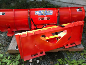 "2017 hla 1000 84"" snow plow"