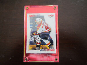 Rob Niedermayer Autographed Score Hockey Card #48 EX/NM/MT