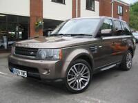 2010 Land Rover Range Rover Sport 3.0TD V6 auto HSE,MET BRONZE & BEIGE LEATHER!!