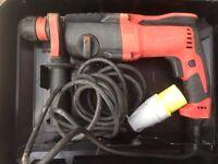 Milwaukee PH26X hammer drill 110v excellent condition!!!makita dewalt bosch