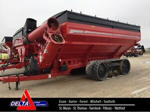 2015 Brent 1196 Grain Cart on Tracks