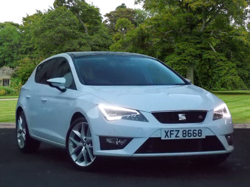 seat leon 2 0 tdi fr tech pack 5dr start stop white 2015 in county antrim gumtree. Black Bedroom Furniture Sets. Home Design Ideas