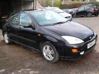 Ford Focus 1.8i 16v 2000MY Zetec Will Mot for 1 year / Service history