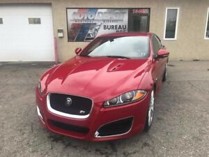 Jaguar XF R  V8 5.0L, SUPERCHARCHED, 510 HP, FULL 2013