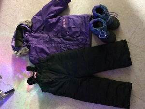 Snowsuit and Boots