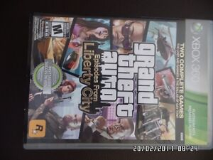 GRand theft auto  episode from liberty city  (xbox 360)