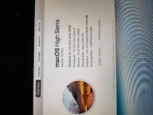 Macbook air 128gb early 2015