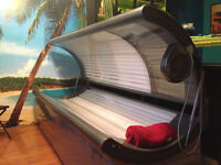 Tanning in our PRIVATE Studio!