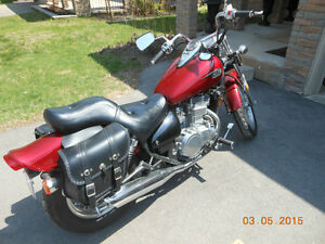 2009 Vulcan 500 LTD with only 1217 kilometers.