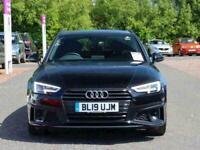2019 Audi A4 40 TDI Black Edition 5dr S Tronic Auto Estate Diesel Automatic