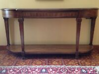 Lane Furniture Hall Table Console