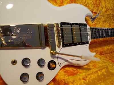 Epiphone E Gitarre Black Bridge Saitenhalter mit Schrauben für Les Paul