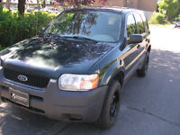 2004 Ford Escape SUV, AC TRANSFER CASE MAKING NOSE