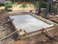 Concrete work by Cal