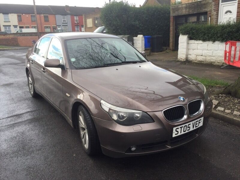 bmw 525d 2005 full leather in sheffield south yorkshire gumtree. Black Bedroom Furniture Sets. Home Design Ideas