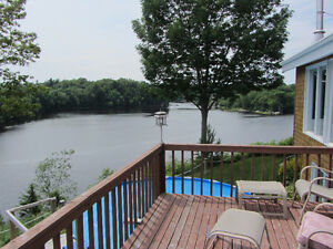 Waterfront house for sale in St. George, NB