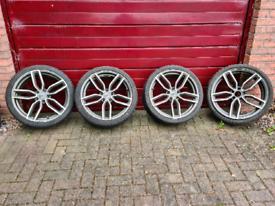 19 inch alloy wheels - VW, Audi, Seat, Skoda