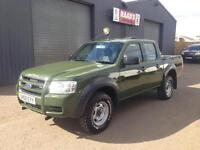 2008 Ford Ranger 2.5 TDCi Double Cab *Forestry * Wildlife Conversion* 151k*