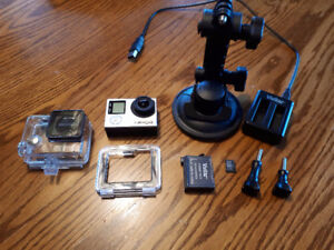 GoPro Hero 4 Silver mint condition