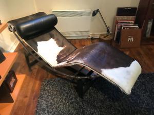 Chaise de collection Corbusier
