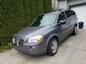 2007 Pontiac Montana SV6 Low Km's 107,000 Excellent Condition!