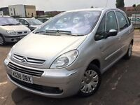 Citroen Xsara Picasso 1.6 Petrol WITH FULL SERVICE HISTORY + 1 OWNER + FEB 2017 MOT