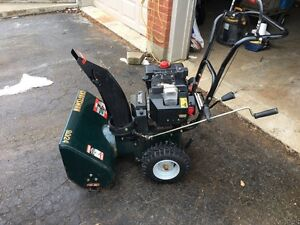 9hp 24 inch snowblower