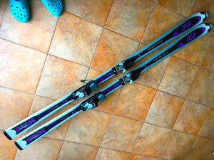 Elan PSX Detonator Titanium Skis with Marker Biotech Bindings
