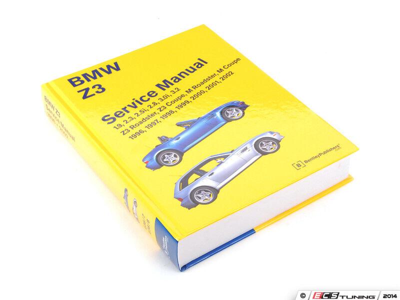 Bentley - BMW Z3 (1996-2002) Service Manual - BZ02