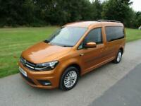 2016 Volkswagen Caddy Maxi Life 2.0 Tdi WHEELCHAIR ACCESSIBLE DISABLED VEHICLE