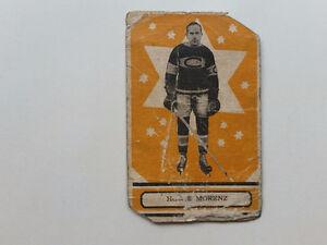 carte hockey howie morenz 1933-34 opc